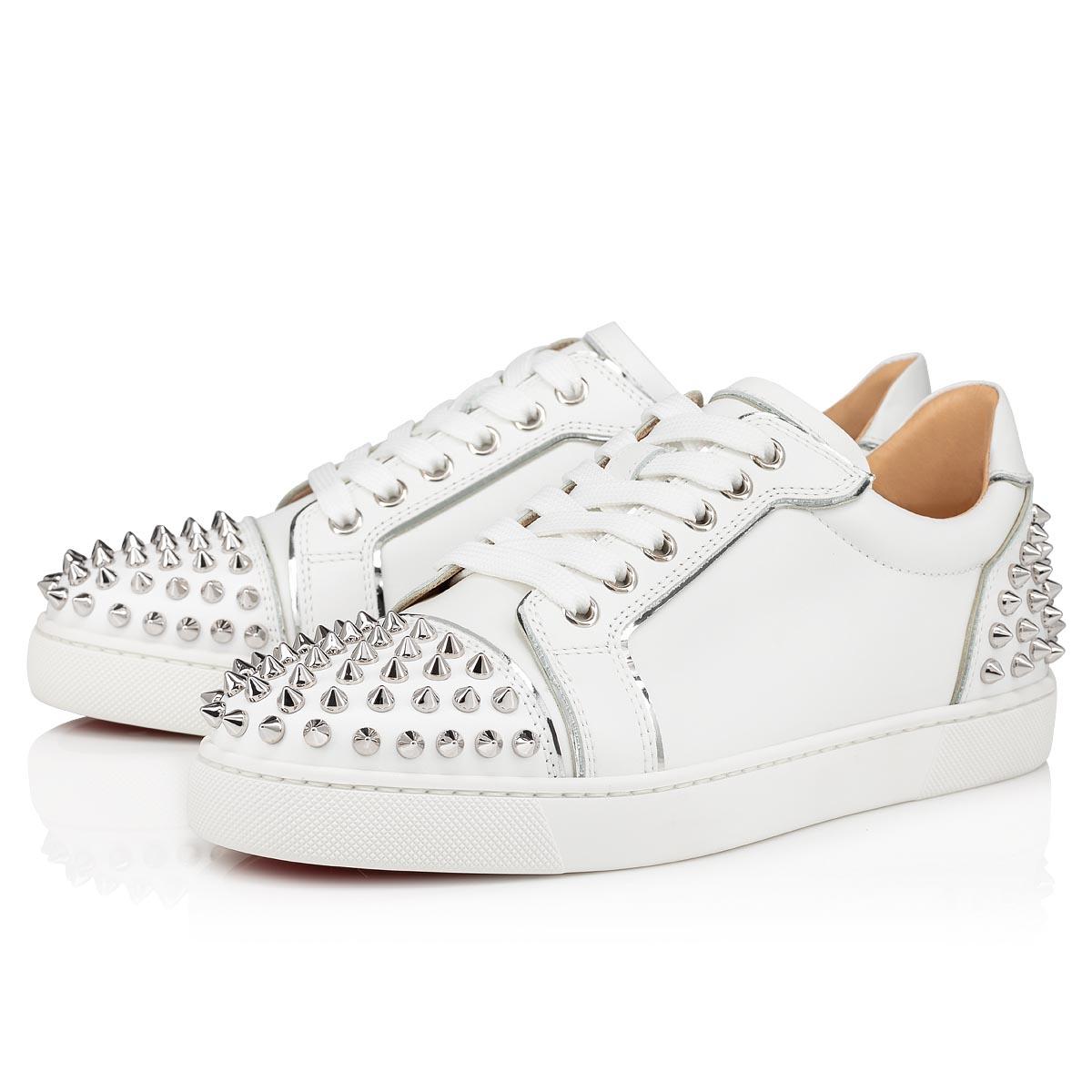 Vieira 2 BIANCO/SILVER CALF - Shoes