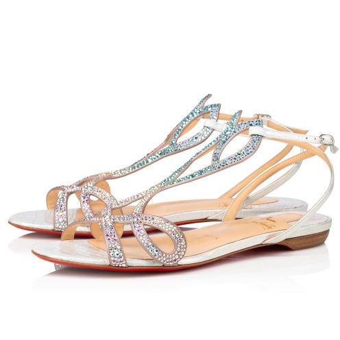 Double L Sandal Strass