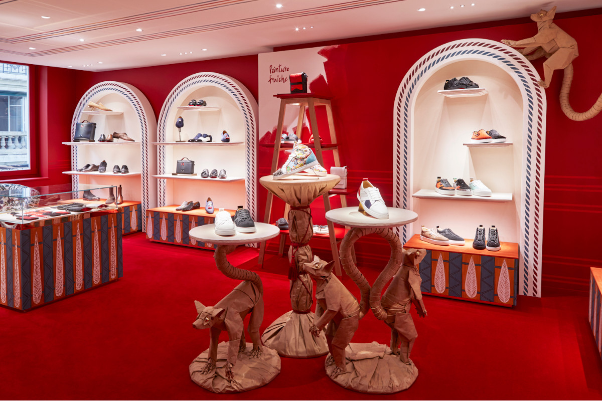 Christian Louboutin unveils a new store on rue Saint-Honoré