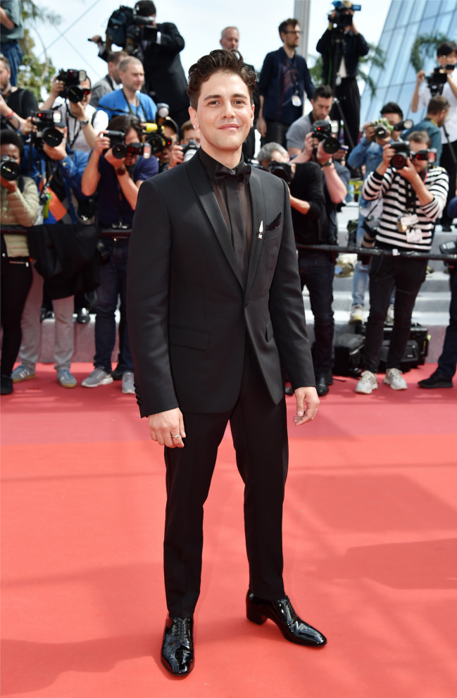 Xavier Dolan wears Lord Cubano during the 72nd annual Cannes Film Festival