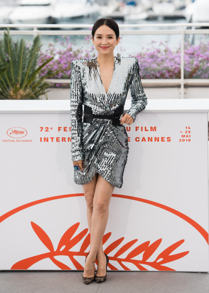 Zhang Ziyi looks stunning at Cannes Film Festival wearing Christian Louboutin