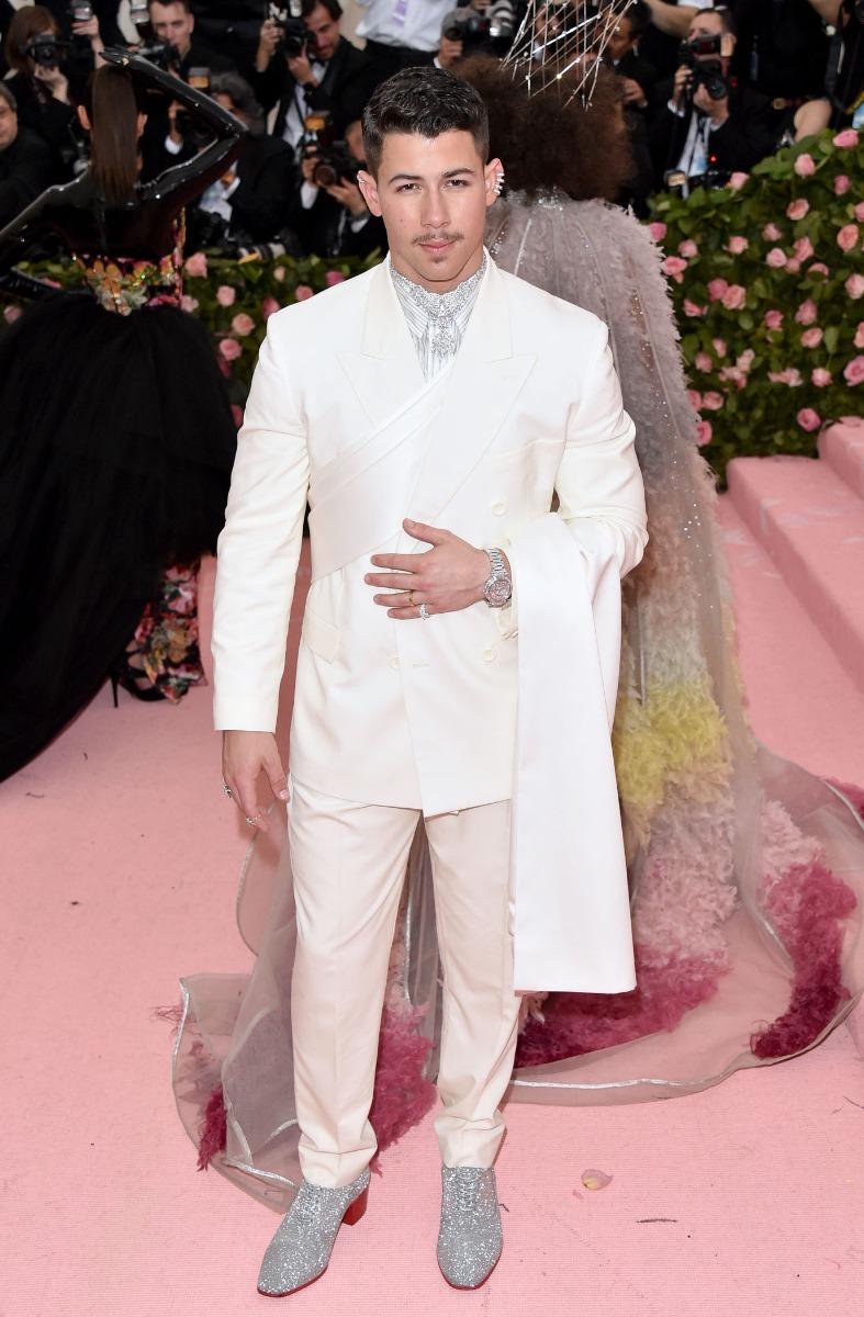 Nick Jonas wearing Lord Cubano