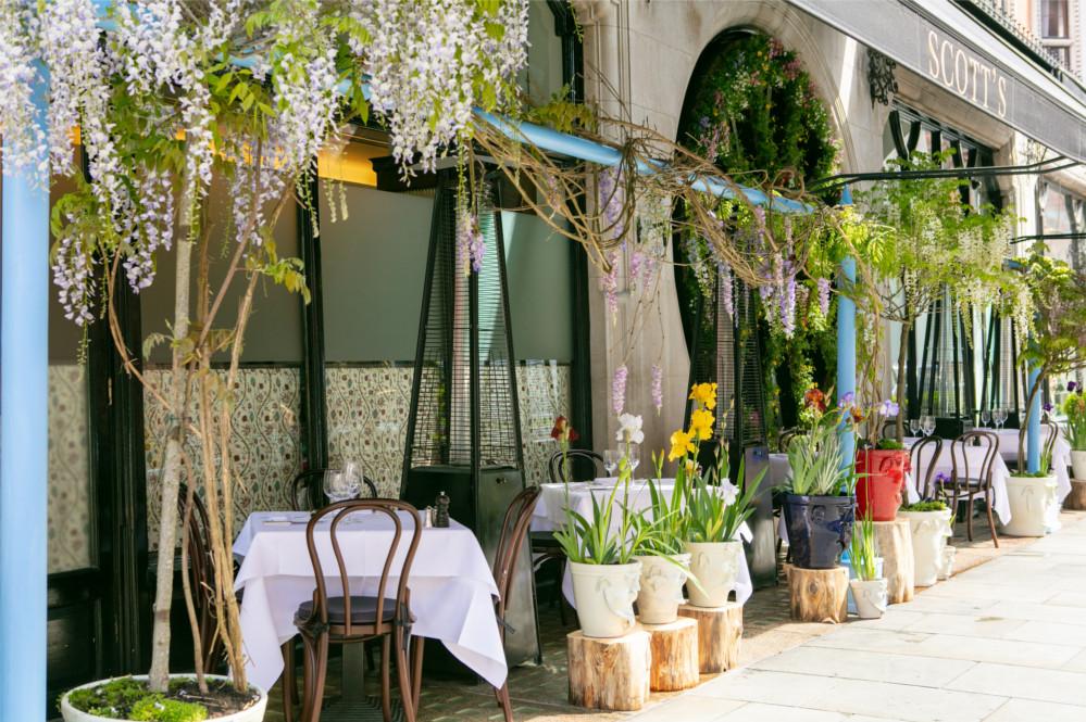 Christian Louboutin's private garden