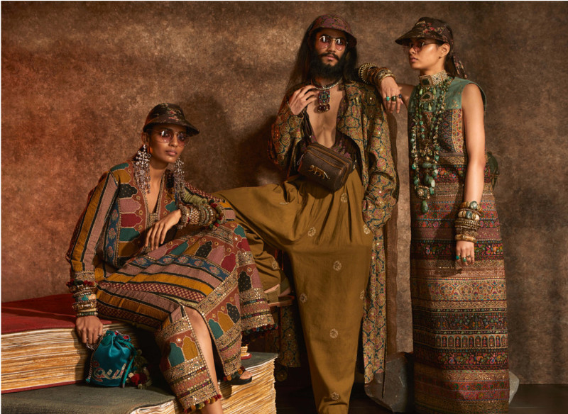 Christian Louboutin goes east for Sabyasachi's FW19 collection