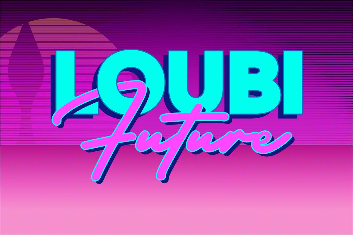 Loubifuture: la collection homme Printemps Été 2022 en avant-première